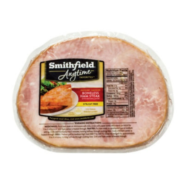 Smithfield Boneless Ham Steak