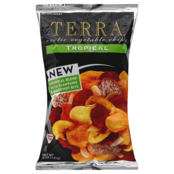 Terra Real Vegetable Chips, Tropical