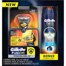 Gillette Fusion ProShield Men's Shaving Set