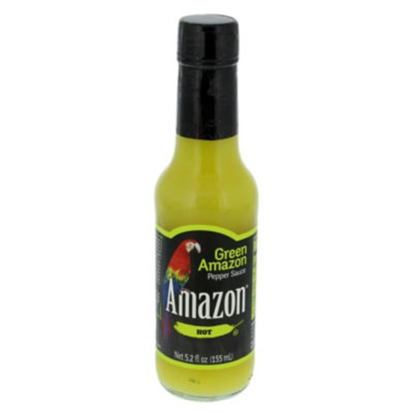 Amazon Hot Green Pepper Sauce