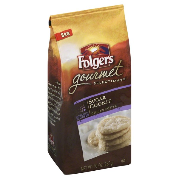 Folgers Coffee, Gourmet Selections, Sugar Cookie, Ground, Bag