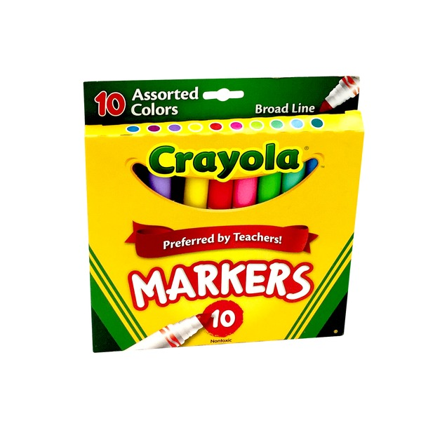 Crayola Classic Colors Broad Line Markers