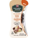 Hormel Natural Choice Snacks with Hormel Honey Ham, White Cheddar Cheese and Dark Chocolate covered Pretzels 2 oz.