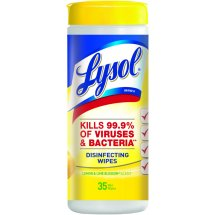 Lysol Disinfecting Wipes - Lemon & Lime Blossom 35 ct.