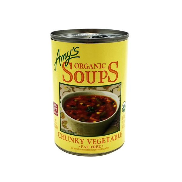 Amy's Organic Fat Free Chunky Vegetable Soup
