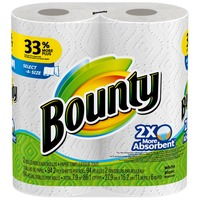 Bounty Basic 2BR SAS WH 84CT KDF SQF 75.70 2.0 RL Towels/Napkins