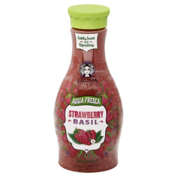 Califia Farms Strawberry Basil Agua Fresca