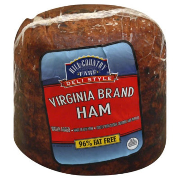 Hill Country Fare Deli Style Virginia Brand Ham