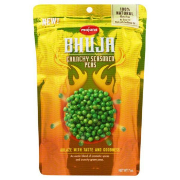 Majans Crunchy Seasoned Peas Bhuja Snacks