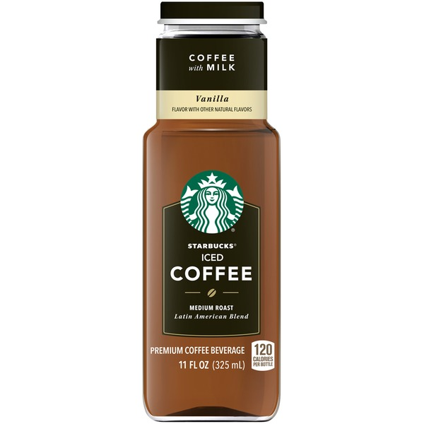 Starbucks Vanilla Medium Roast Iced Coffee