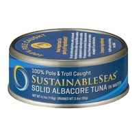 SustainableSeas Sustainable Seas Solid Albacore Tuna in Water