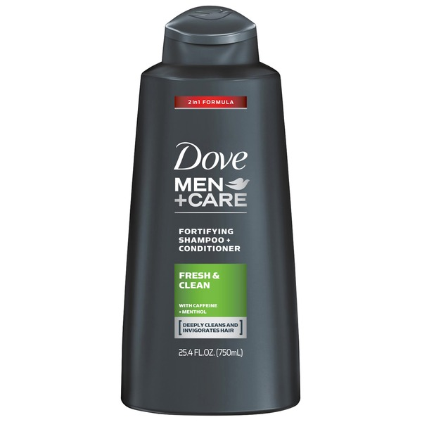 Dove Men+Care Fresh and Clean 2 in 1 Shampoo