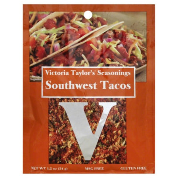 Victoria Taylor's Seasonings Southwest Tacos Seasoning