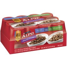 Purina ALPO Price Cuts with Beef and Lamb & Rice Variety Pack Wet Dog Food (Case of 12)