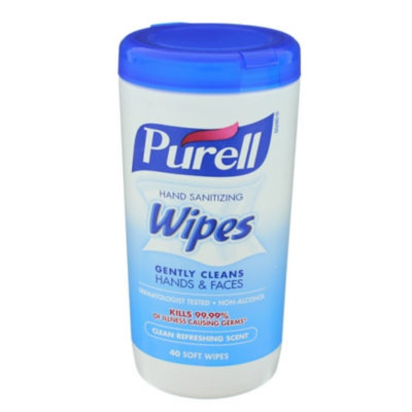 Purell Clean Refreshing Scent Hand Sanitizing Wipes