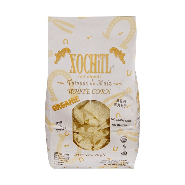 Xochitl Mexican Style White Corn Chips