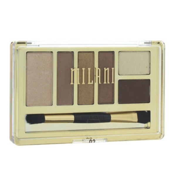 Milani Cosmetics Everyday Eyes Powder Eyeshadow Collection, Bare Necessities
