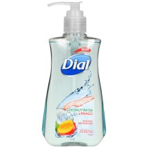 Dial Liquid Hand Soap with Moisturizer, Coconut Water & Mango, 7.5 Ounce