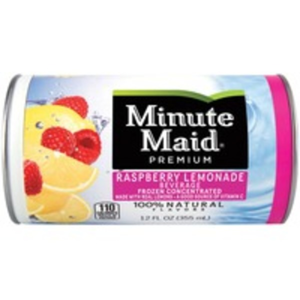 Minute Maid Frozen Concentrate Raspberry Lemonade
