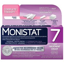 Monistat 7 Vaginal Antifungal 7-Day Treatment Cream Complete Therapy