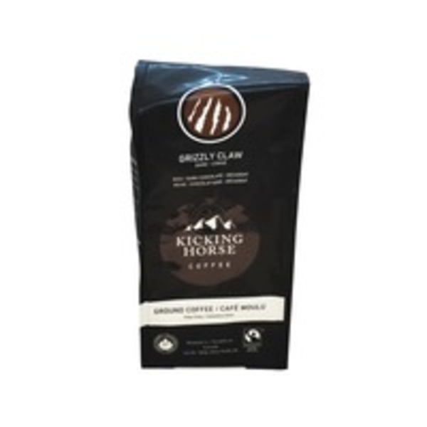 Kicking Horse Coffee Organic Grizzly Claw Ground Coffee