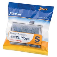 Aqueon Mini Bow Replacement Filter Cartridges
