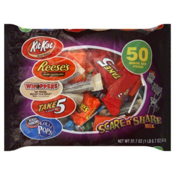 Hershey Scare n' Share Mix, Snack Size Pieces