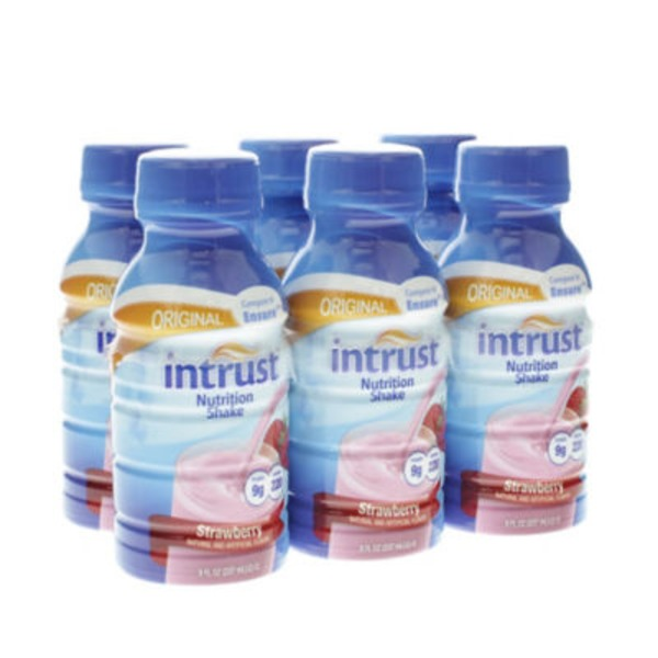 Intrust Original Strawberry Nutrition Shake