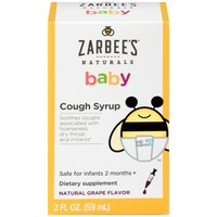 Zarbee's Naturals Baby Cough Syrup Dietary Supplement
