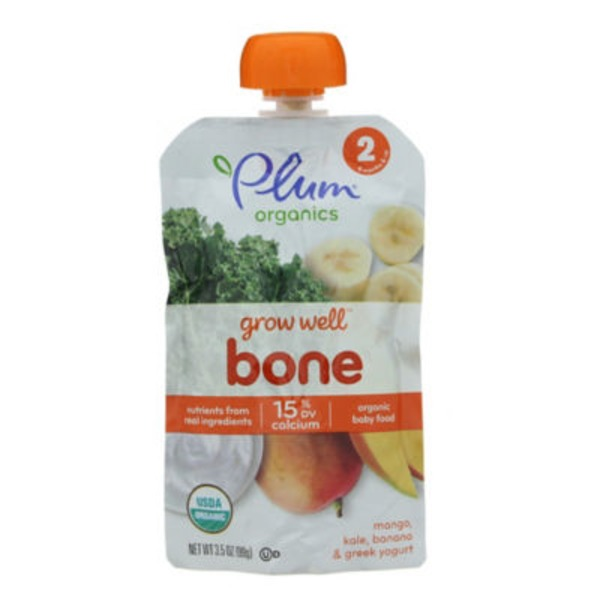 Plum Baby Grow Well Bone Baby Food