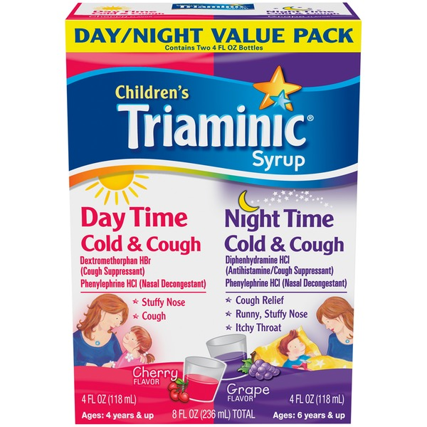 Triaminic Children's Day/Night Value Pack Cold & Cough Syrup
