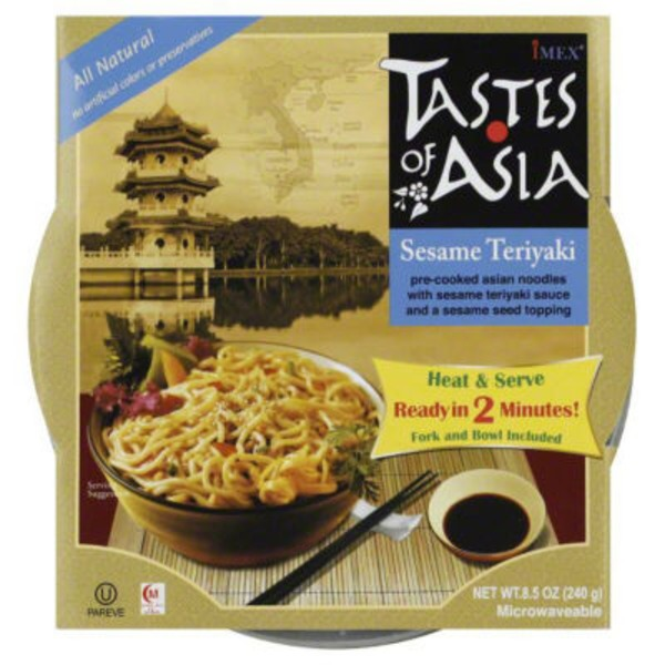 Tastes of Asia Sesame Teriyaki Asian Noodles