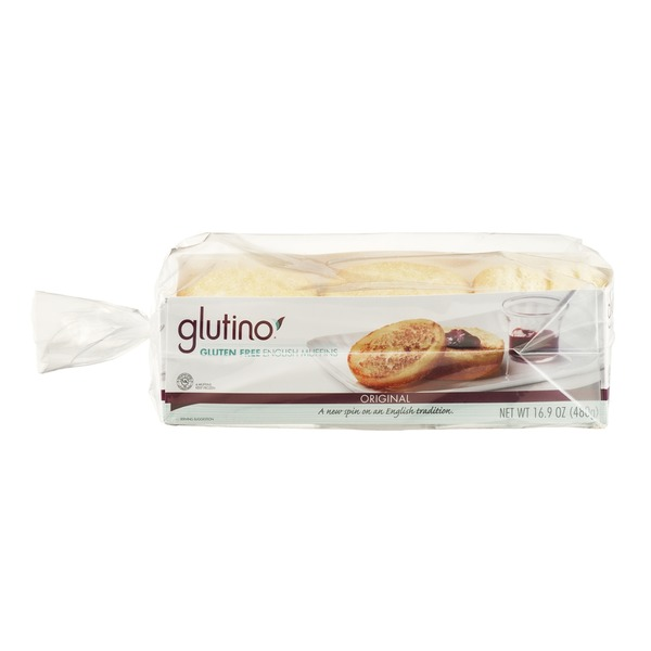 Glutino Gluten Free Original English Muffins