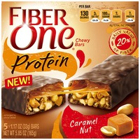 Fiber One Protein Caramel Nut Chewy Bars
