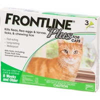 Frontline Flea, Tick & Lice Killer. for Cats