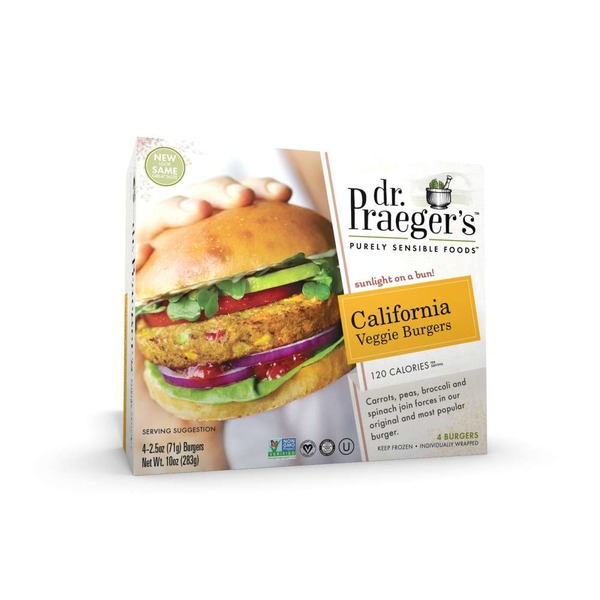 Dr. Praeger's Sensible Foods California Veggie Burgers - 4 CT