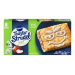 Pillsbury Toaster Strudel™ Apple Toaster Pastries 6 ct Box, 11.7 OZ