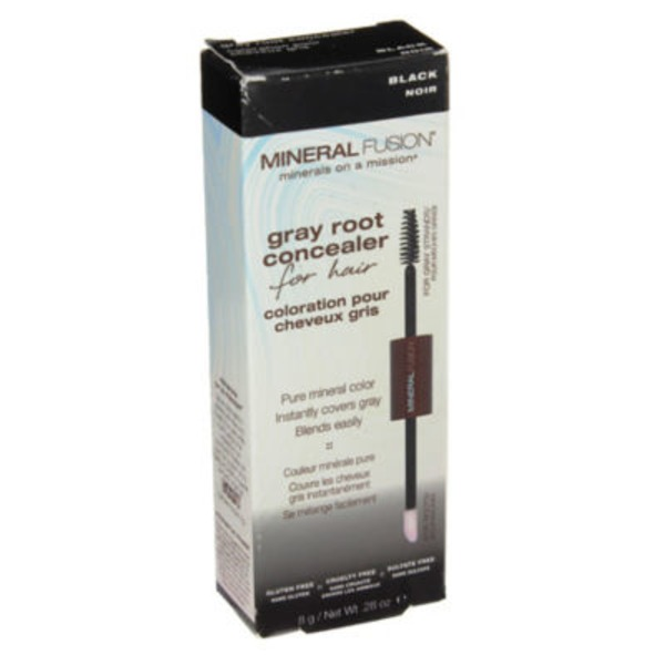 Mineral Fusion Grey Root Concealer Black