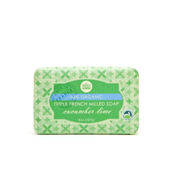 Whole Foods Market Cucumber Lime Triple French Milled Soap