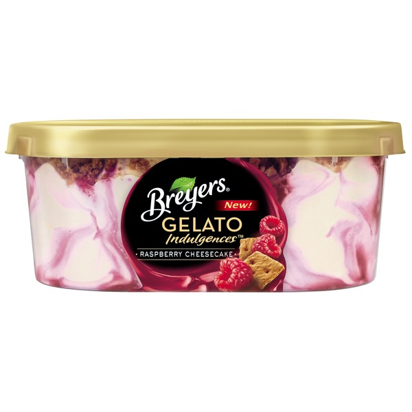 Breyers Raspberry Cheesecake Gelato