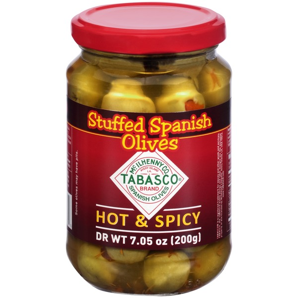 Tabasco ® Brand Hot & Spicy Stuffed Spanish Olives