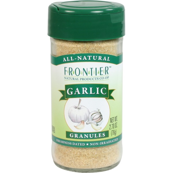 Frontier Natural Products Co-op Frontier Garlic Granules