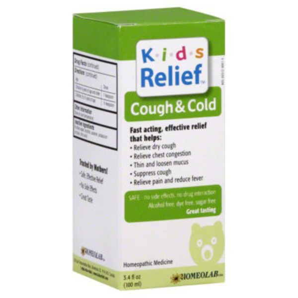 Kids Relief Cough & Cold Homeopathic Medicine