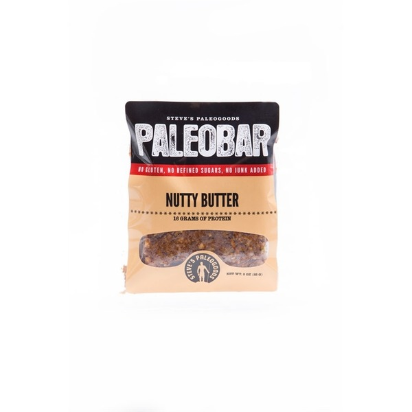 Steves Paleogoods Nutty Butter Paleo Bar