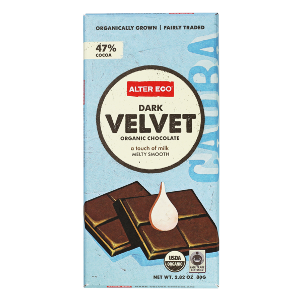 Alter Eco Dark Velvet Organic Chocolate