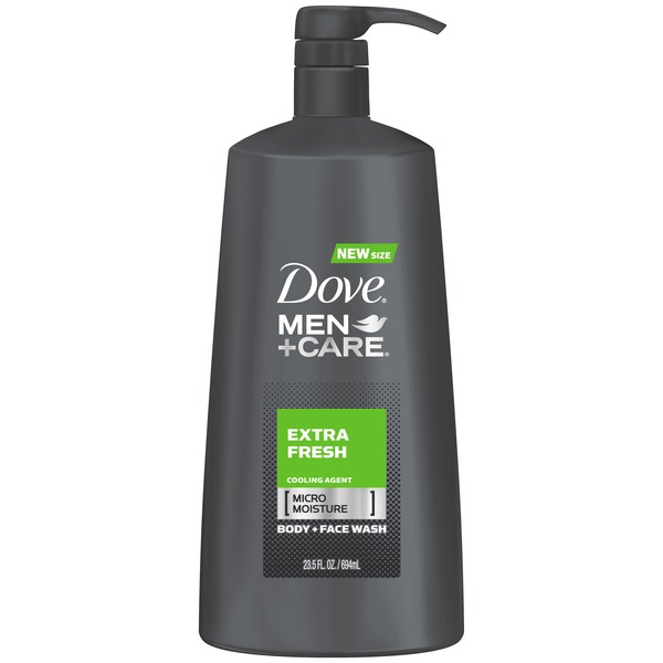 Dove Men+Care Extra Fresh Body Wash with Pump