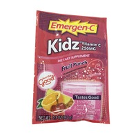 Emergen-C Kidz 250 Mg Vitamin C Fizzy Drink Mix - Fruit Punch