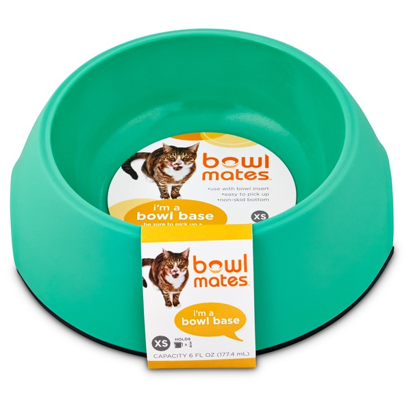 Petco Bowlmates By Petco X Small Mint Round Base