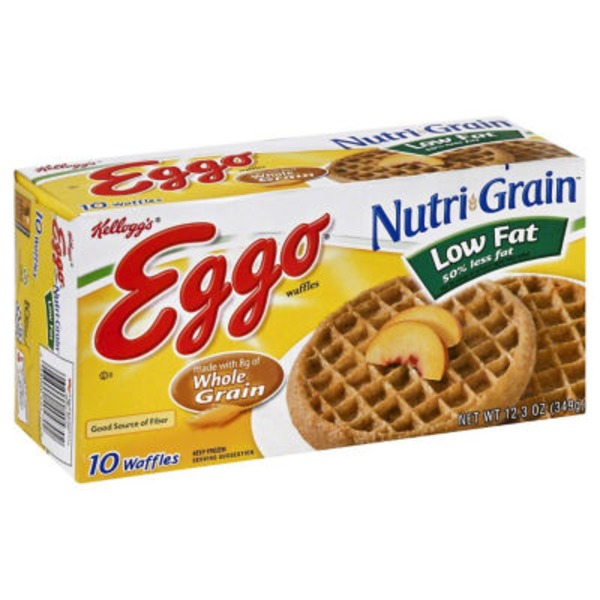 Kellogg's Eggo Nutri-Grain Low Fat Waffles