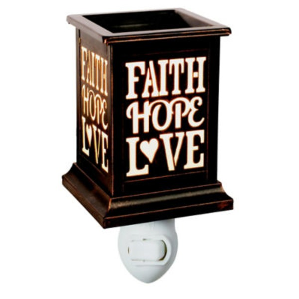 ScentSationals Faith Hope Love Accent Warmer